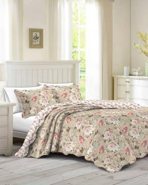 Orion Prehoz na posteľ Eva, 140 x 200 cm, 1ks 50 x 70 cm, 140 x 200 cm