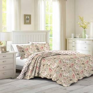 Prehoz na posteľ Eva, 140 x 200 cm, 1ks 50 x 70 cm, 140 x 200 cm
