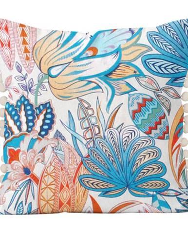 Domarex Vankúšik Alex Pola modrá, 40 x 40 cm