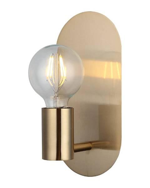 Homemania Decor Nástenné svietidlo v zlatej farbe Homemania Decor Zala