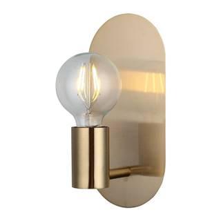 Nástenné svietidlo v zlatej farbe Homemania Decor Zala