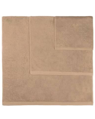 Súprava 3 hnedých uterákov Artex Alfa