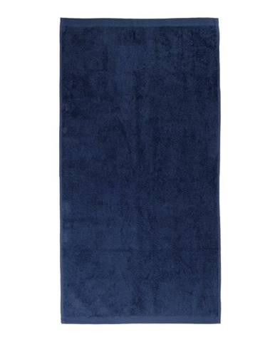Tmavomodrý uterák Artex Alpha, 50 x 100 cm