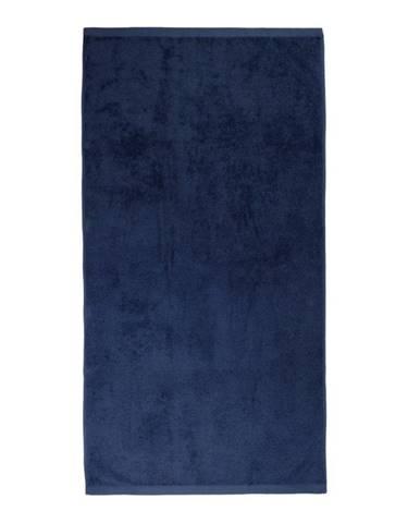 Tmavomodrý uterák Artex Alpha, 70 x 140 cm