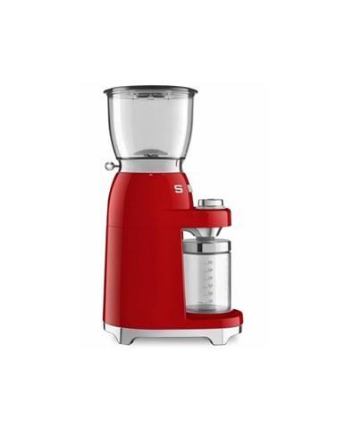 Červený mlynček na kávu SMEG 50&