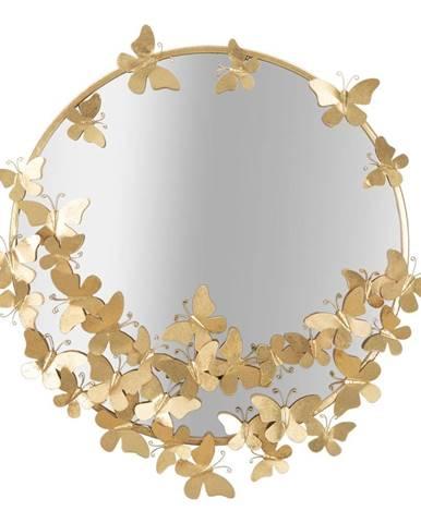 Nástenné zrkadlo Mauro Ferretti Butterfly, ø 75 cm