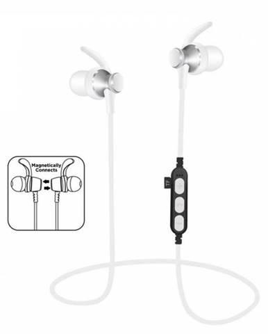 Slúchadlá bezdrôtové, PM1060 BLUETOOTH, strieborné + vstavaný MP3 prehrávač + MIC