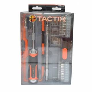 Skrutkovač TACTIX 43-dielna sada