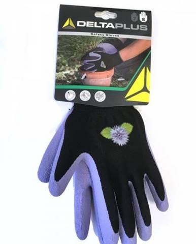 Záhradné rukavice číslo 7, fialové