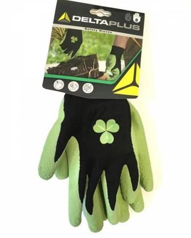 Záhradné rukavice číslo 8, zelené
