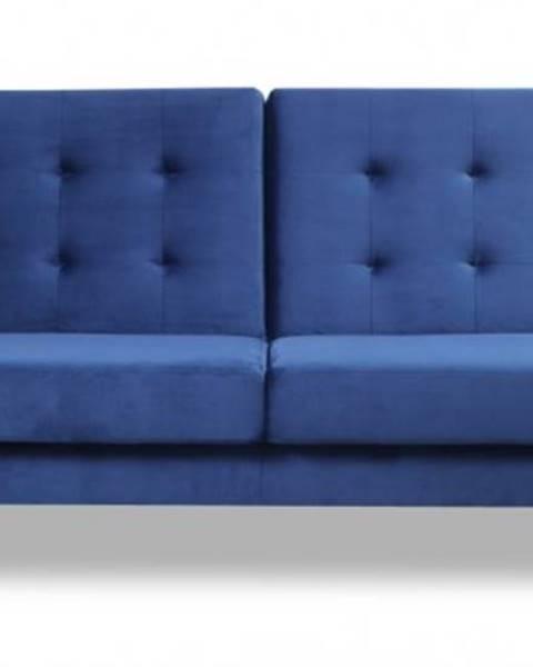 OKAY nábytok Trojsedačka Zara rozkladacia modrá ÚP