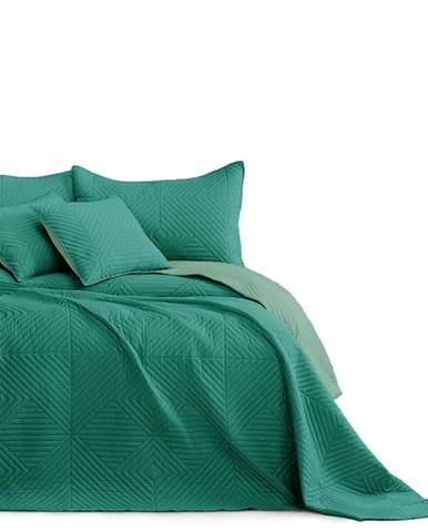 AmeliaHome Prehoz na posteľ Softa green - jadegreen, 220 x 240 cm
