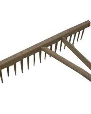Hrable drevené 14-zubové