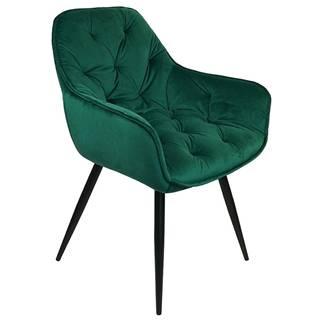Stolička Vitos zelená