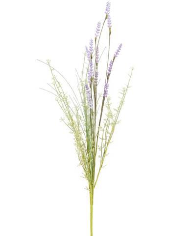 Umelé lúčne kvety levanduľa 56 cm, fialová