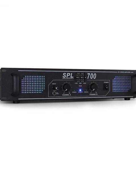 Skytec Skytec SPL700 DJ PA Audio LED zosilňovač 2000W + ekvalizér