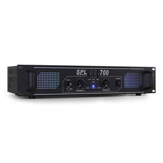 Skytec SPL700 DJ PA Audio LED zosilňovač 2000W + ekvalizér