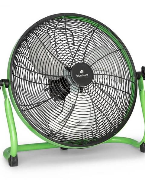 "Blumfeldt Blumfeldt Wintergarden, podlahový ventilátor, 16"", akumulátor, 43 W, USB, 45 dB, zelený"