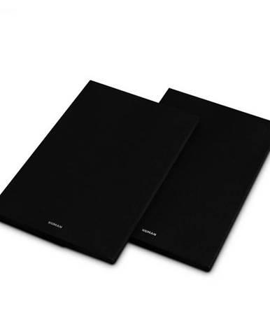 Numan Reference 802 Cover, čierny, kryt na regálové reproduktory, pár