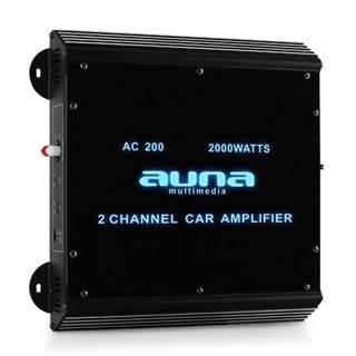 Auna W2-Ac200, 2-kanálový zosilňovač do auta, 2000W