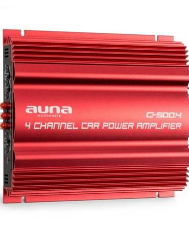 Auna C500.4 4-kanálový zosilňovač koncový stupeň 4x 65W RMS