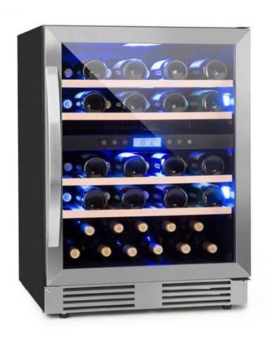 Klarstein Vinovilla Duo43 2-zónová chladnička na víno, 129l, 43 fliaš, 3 farby, sklené dvere