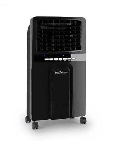 OneConcept Baltic Black, ochladzovač vzduchu, ventilátor, 65 W, 400 m³/h, diaľkový ovládač