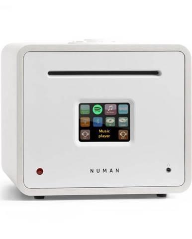 Numan Unison Retrospective Edition - All in One receiver so zosilňovačom, prijímač, biely