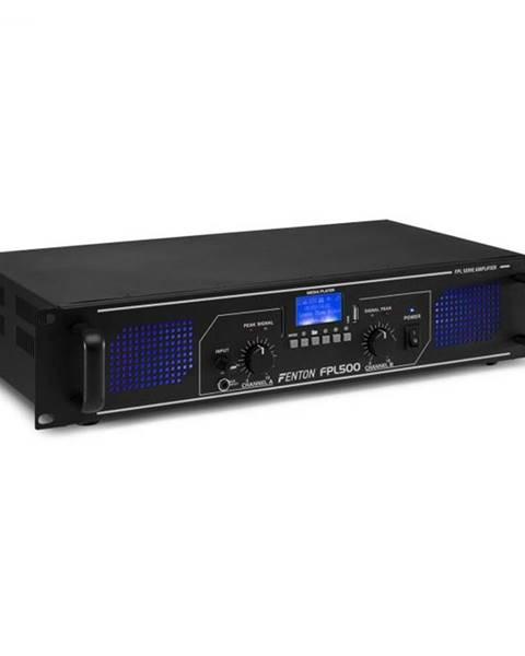 Fenton Fenton FPL500, digitálny zosilňovač, 2 x 250 W, BT, prehrávač médií, USB port, SD slot