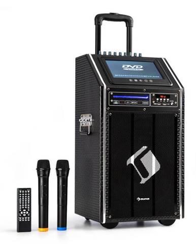 """Auna Pro DisGo Box, 100 DVD, mobilný PA systém, max. 300 W, 9"""" TFT displej, DVD, BT"""