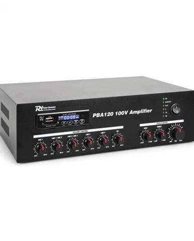 Power Dynamics PBA120, 100 V zosilňovač, 120 W, USB/SD, MP3, bluetooth