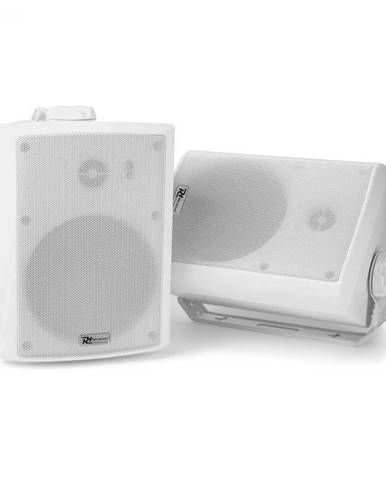 Power Dynamics WS40A, sada WiFi reproduktorov, 200 W max., multiroom konfigurácia , IP55, biela