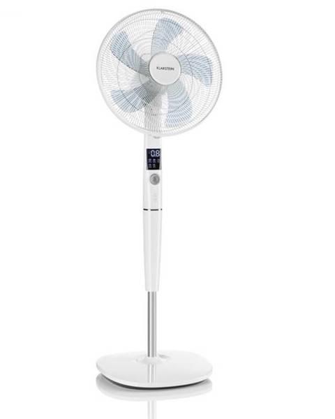 """Klarstein Klarstein Silent Storm, stojanový ventilátor, 16"""" (41 cm), 5-listá vrtuľa, 80 m³, 35 W, biely"""