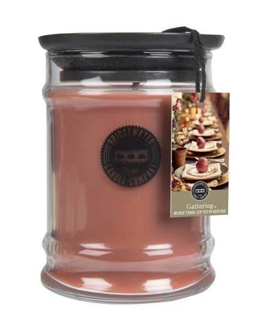 Sviečka v sklenenej dóze s vôňou škorice a vanilky Bridgewater candle Company Gathering, doba horenia 65-85 hodín