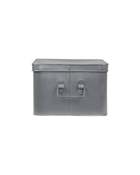 LABEL51 Kovový úložný box LABEL51 Media, šírka 35 cm