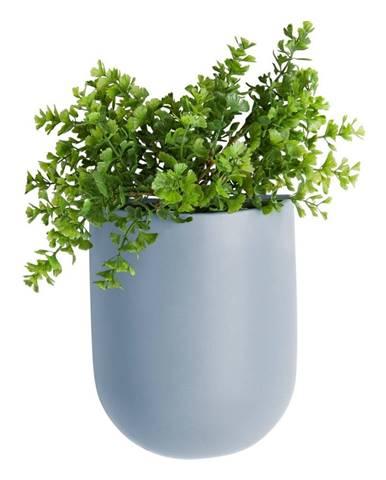 Modrý nástenný kvetináč PT LIVING Oval