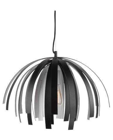 Stropné svietidlo v čierno-striebornej farbe Leitmotiv Willow