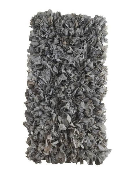 Geese Sivý koberec Geese Fluffy, 120×60 cm