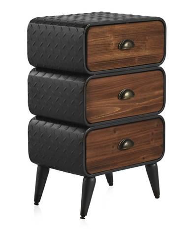 Nočný stolík s 3 zásuvkami Geese Chicago