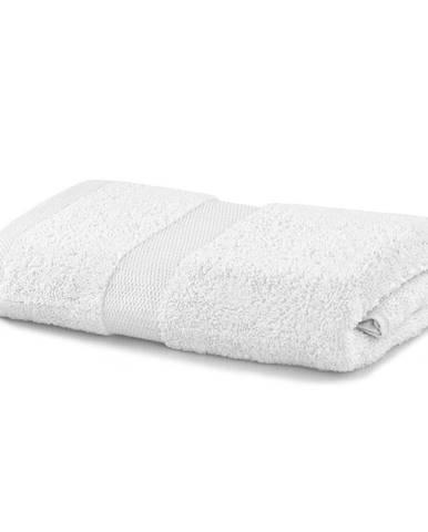 Biely uterák DecoKing Marina, 50 × 100 cm