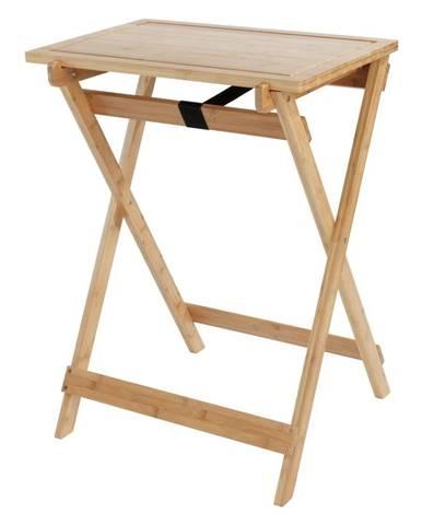 Skladací stolík s krájacou doskou Wenko Lugo