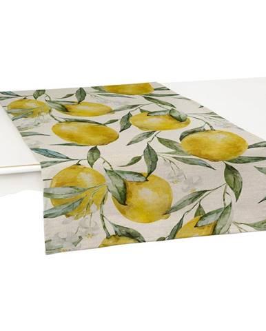 Sada 2 behúňov na stôl Linen Couture Lemons