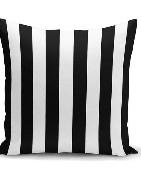Minimalist Cushion Covers Obliečka na vankúš Minimalist Cushion Covers BW Stripes Minimalismo, 45 x 45 cm