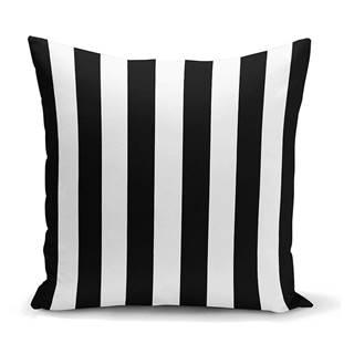 Obliečka na vankúš Minimalist Cushion Covers BW Stripes Minimalismo, 45 x 45 cm