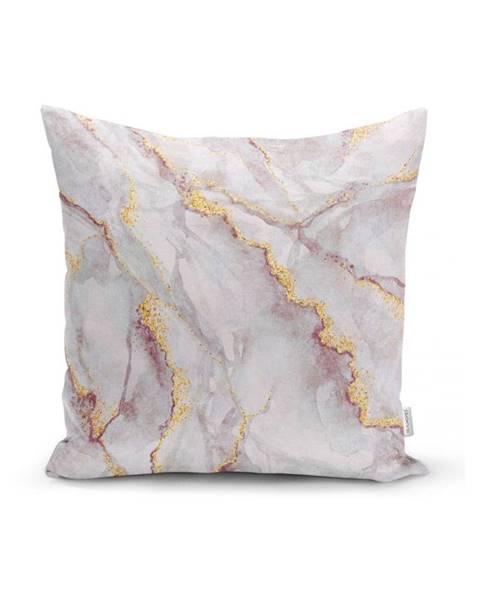 Minimalist Cushion Covers Obliečka na vankúš Minimalist Cushion Covers Elegant Marble, 45 x 45 cm