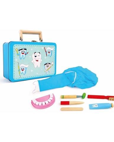 Drevený hrací set pre malých zubárov Legler Dentist