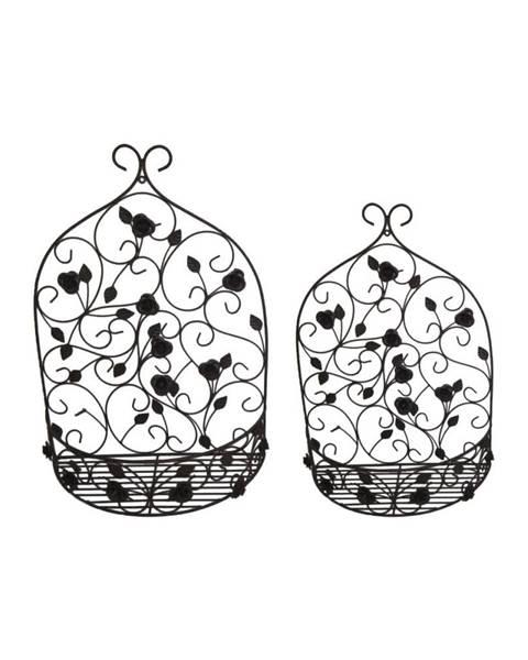 Antic Line Súprava 2 nástenných držiakov na kvetináče Antic Line tálne