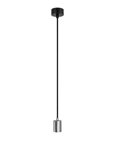 Závesné svietidlo v striebornej farbe Bulb Attack Cero Basic