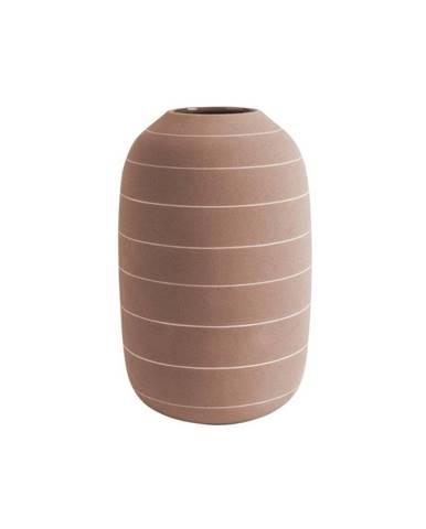 Keramická váza v terakotovej farbe PT LIVING Terra, ⌀ 16 cm