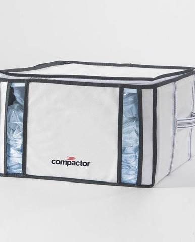 Biely úložný box s vákuovým obalom Compactor Black, objem 125 ml